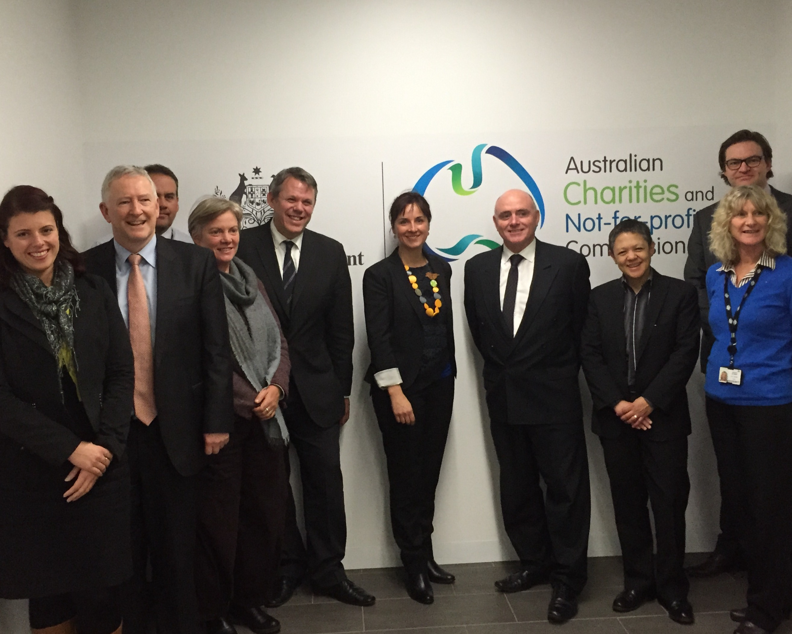 Prime Minister's Community Business Partnership meets with the Australian Charities and Not-for-profits Commission (ACNC)