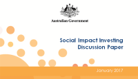 Social Impact Investing discussion paper
